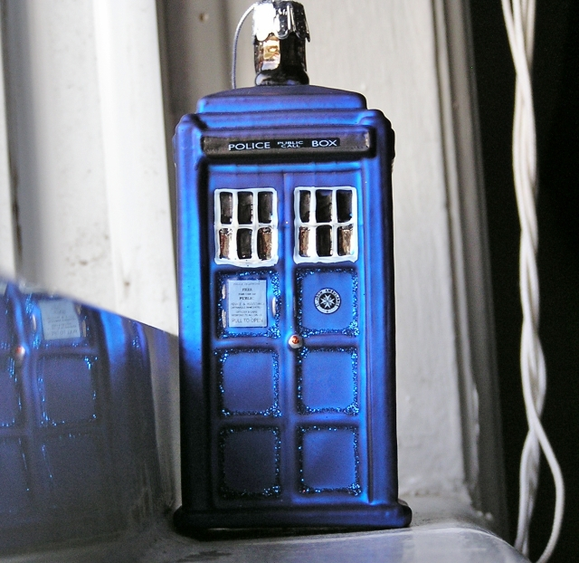 The Tardis Has Landed